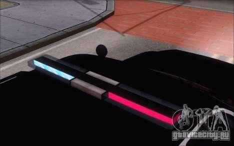 Полицейский джип из GTA V для GTA San Andreas вид справа