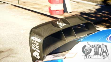 Ford Focus RS M Gronholm Rally Finland WRC для GTA 4 вид сзади