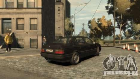 Volkswagen Passat B3 для GTA 4 вид справа