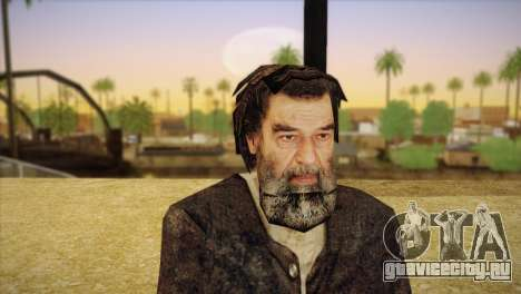Саддам Хусейн для GTA San Andreas третий скриншот