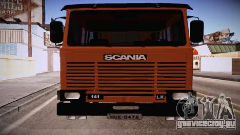 Scania LK 141 6x2 для GTA San Andreas вид слева