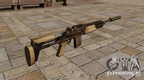 Автоматическая винтовка M14 с глушителем для GTA 4 второй скриншот