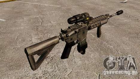 Автомат M4 Hybrid Scope для GTA 4 второй скриншот