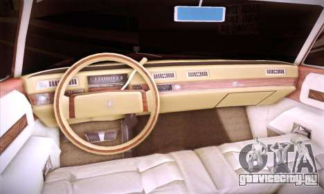 Cadillac Eldorado 1978 Coupe для GTA San Andreas вид сбоку