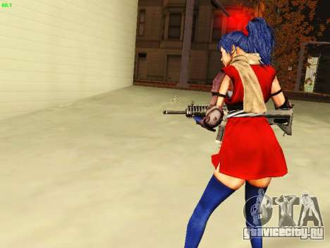 Juliet Starling для GTA San Andreas четвёртый скриншот