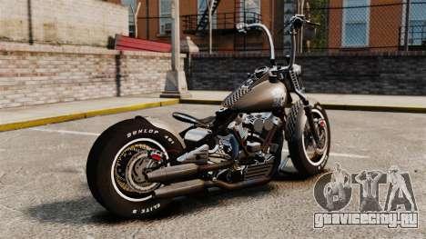 Harley-Davidson Knucklehead v2 для GTA 4 вид слева