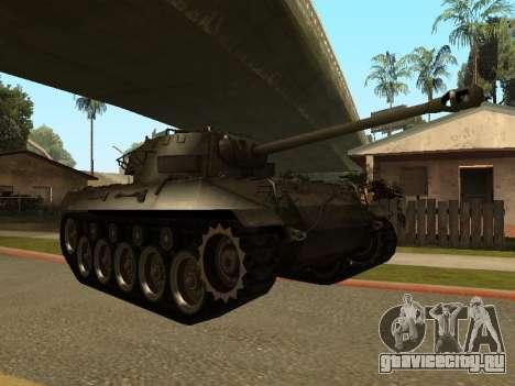 M18-Hellcat для GTA San Andreas вид слева