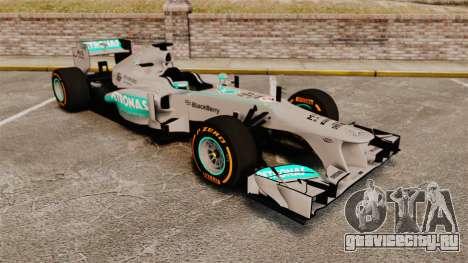 Mercedes AMG F1 W04 v3 для GTA 4