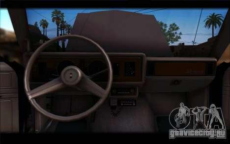 Ford Fairmont 1978 4dr Police для GTA San Andreas вид сзади