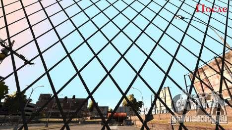Исправление чёткость забора из сетки рабицы для GTA 4