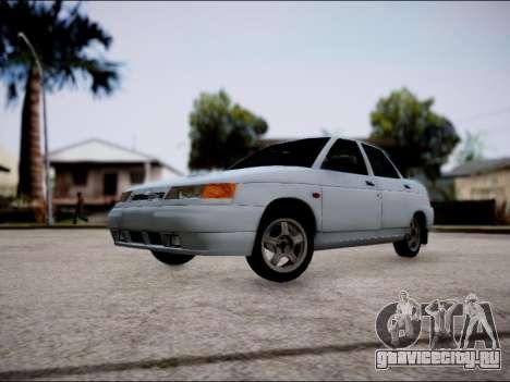 ВАЗ 2110 Рестайлинг для GTA San Andreas вид слева