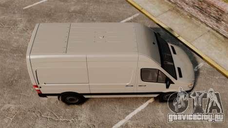 Mercedes-Benz Sprinter 2500 Delivery Van 2011 для GTA 4 вид справа