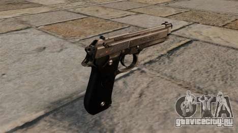Самозарядный пистолет Beretta 92 для GTA 4 второй скриншот