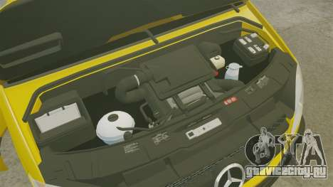 Mercedes-Benz Sprinter 2500 Delivery Van 2011 для GTA 4 вид сзади