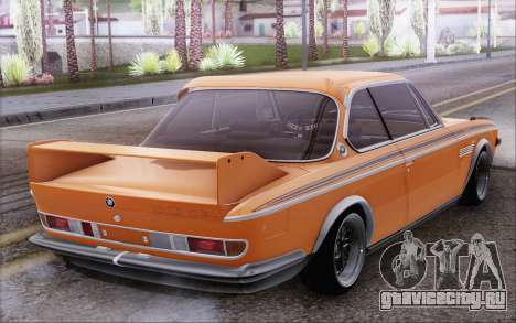 BMW 30 CSL 1971 для GTA San Andreas вид сзади слева