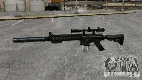 Снайперская винтовка SR-25 для GTA 4 третий скриншот
