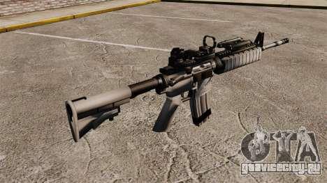 Автомат M4 Red Dop v1 для GTA 4 второй скриншот