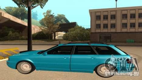 Audi RS2 Avant 1995 для GTA San Andreas вид сзади слева