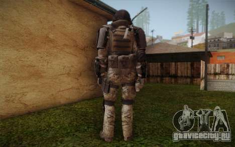 COD MW3 Heavy Commando для GTA San Andreas третий скриншот