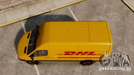 Mercedes-Benz Sprinter 2500 Delivery Van 2011 для GTA 4 вид справа
