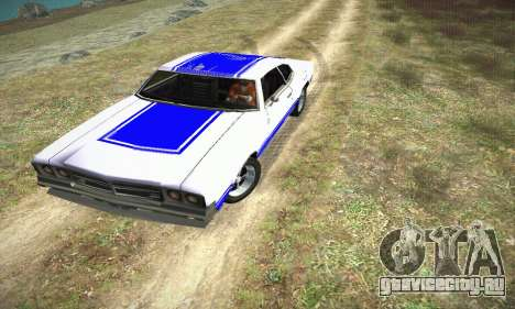 GTA IV Sabre Turbo для GTA San Andreas