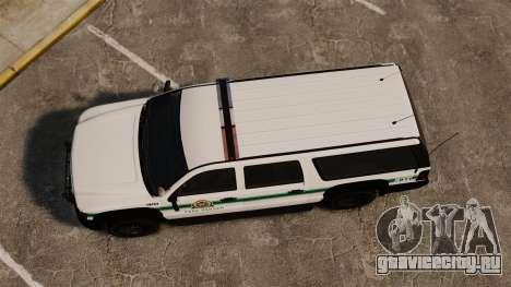 GTA V Declasse Granger Park Ranger для GTA 4 вид справа