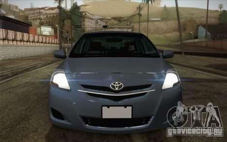 Toyota Vios 2008 для GTA San Andreas вид справа