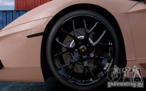 Lamborghini Aventador LP760-4 Oakley Design для GTA 4 вид сверху