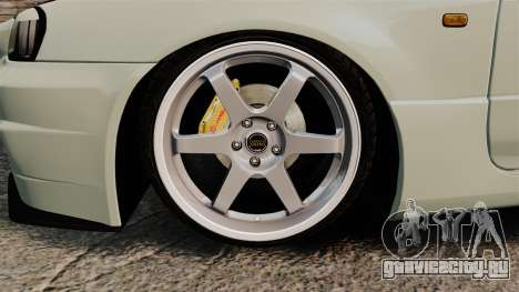 Nissan Skyline GT-R V-Spec II Mk.X [R34] для GTA 4 вид сзади