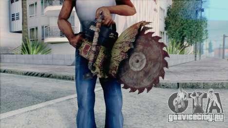 Бензопила из Silent Hill Home Coming для GTA San Andreas четвёртый скриншот