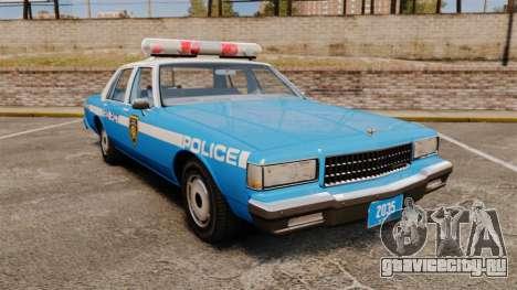 Chevrolet Caprice 1987 LCPD для GTA 4