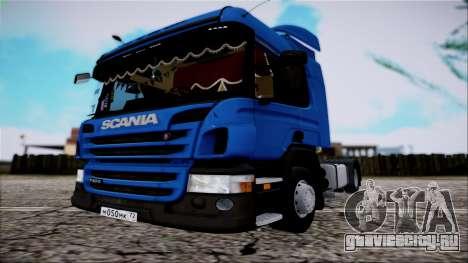 Scania P400 для GTA San Andreas вид справа