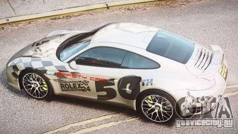 Porsche 911 Turbo 2014 для GTA 4 вид сбоку