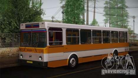 ЛиАЗ 5256.00 Скин-пак 3 для GTA San Andreas вид слева