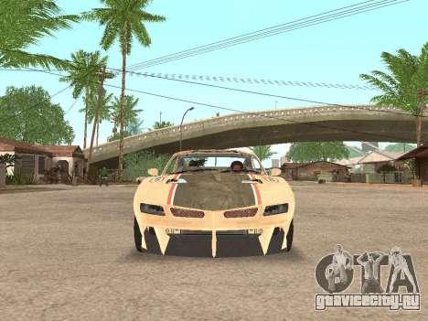 AMC Javelin AMX для GTA San Andreas вид сзади