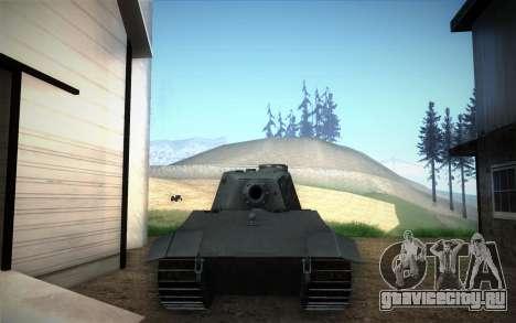 E-75 Tiger III для GTA San Andreas вид справа