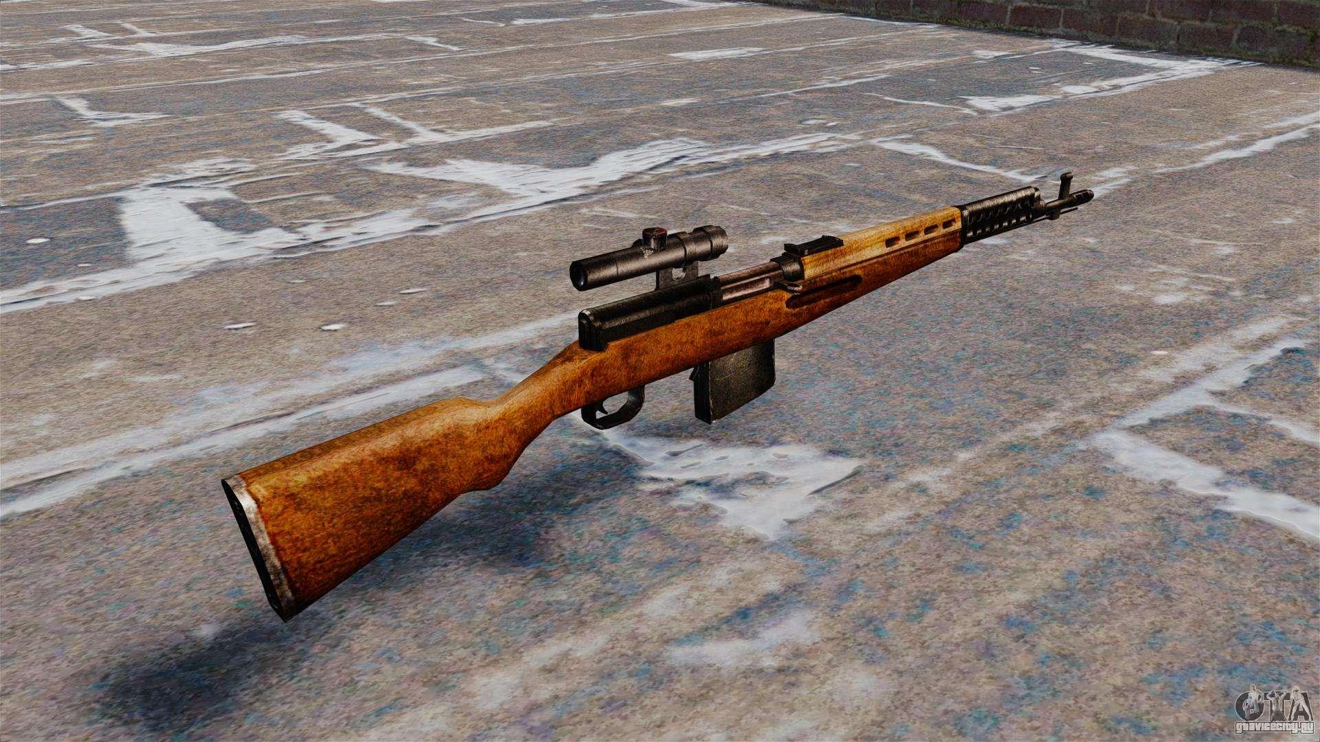 свт 40 снайперская винтовка фото
