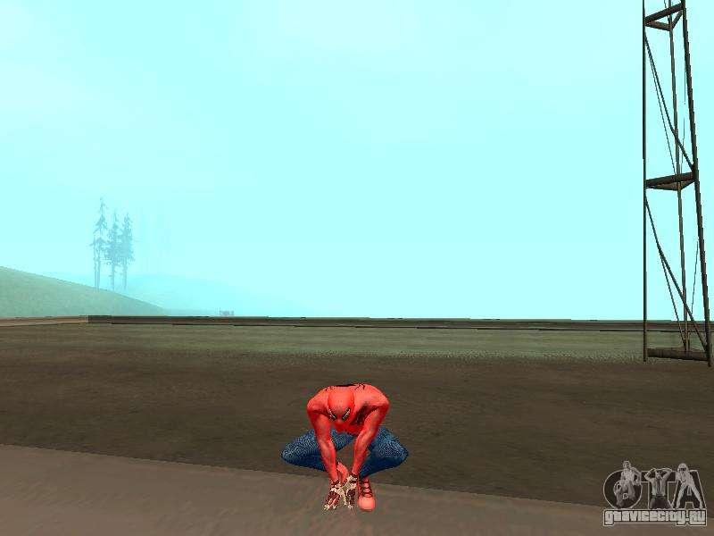 скачать мод человека паука для Gta San Andreas - фото 9