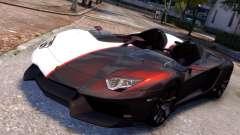 Lamborghini Aventador J 2012 Carbon для GTA 4