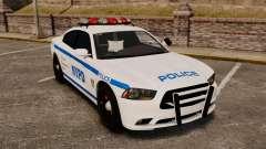 Dodge Charger 2012 NYPD [ELS] для GTA 4