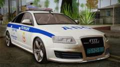 Audi RS6 Police для GTA San Andreas