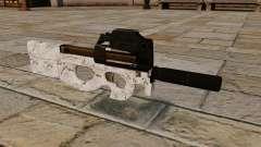 Пистолет-пулемёт P90 Arctic Camo