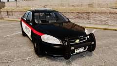 Chevrolet Impala 2008 LCPD STL-K Force [ELS] для GTA 4
