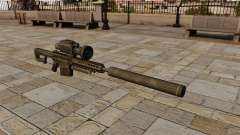 Снайперская винтовка Barrett M82А1 с глушителем