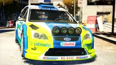 Ford Focus RS M Gronholm Rally Finland WRC для GTA 4