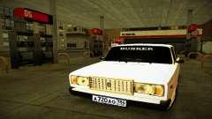 ВАЗ 2107 BUNKER для GTA San Andreas