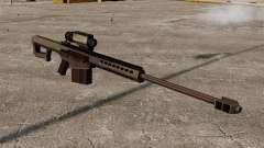 Снайперская винтовка  Barrett M107 для GTA 4