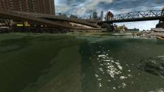 Чистое море для GTA 4