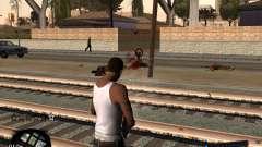 C-HUD by Menson для GTA San Andreas