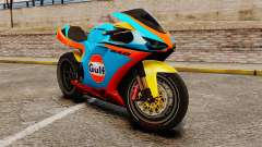 Ducati 848 Gulf